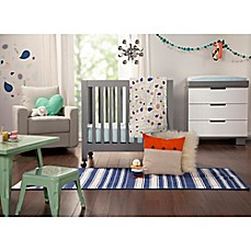 image of Babyletto Fleeting Flora Mini Crib Bedding Collection