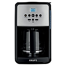 image of Krups® 12-Cup Savoy Programmable Coffee Maker