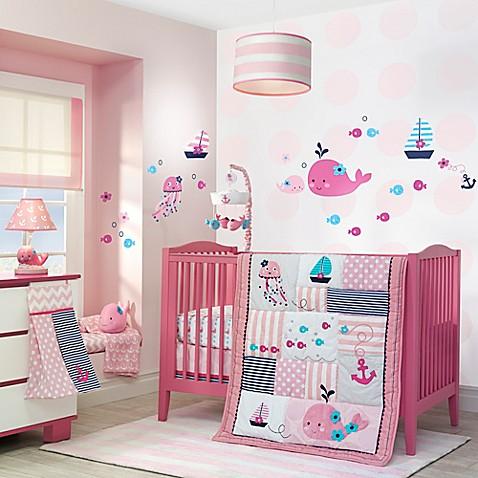 lambs & ivy® splish splash crib bedding collection - buybuy baby