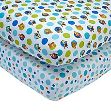 image of Disney® Nemo Fitted Crib Sheets (Set of 2)
