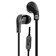 image of iHome® iB26 Noise Isolating Earphones with In-Line Mic & Remote in Black