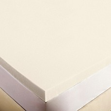 Image Of Authentic Comfort 2 Inch Memory Foam Mattress Topper
