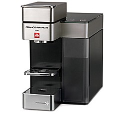 image of illy® Y5 Duo Espresso and Coffee Machine in Satin