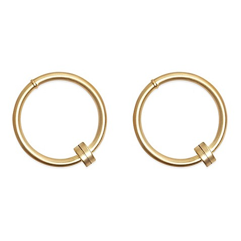 Umbra® Cappa Halo Hold Backs in Brushed Brass (Set of 2)