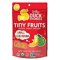 image of Little Duck™ Organics 0.75 oz. Apple and Banana Tiny Fruits