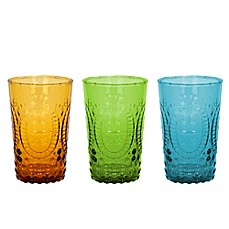image of The Zrike Company Renaissance Pressed Glass Juice Glass (Set of 4)