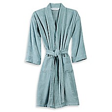 image of Wamsutta® Sheared Terry Kimono Bathrobe