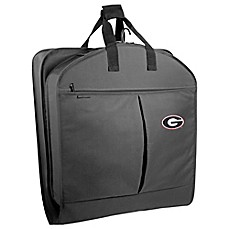 image of University of Georgia 40-Inch Garment Bag with Pockets and Handles