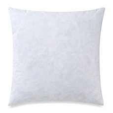 feather 22inch square throw pillow insert in white