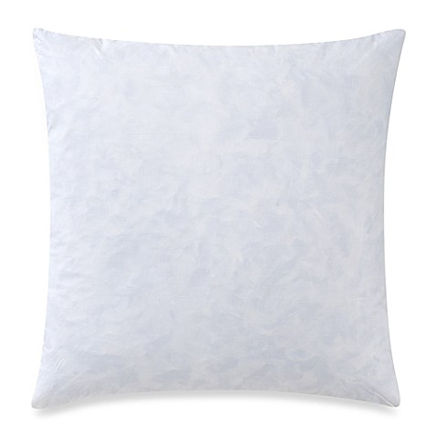 Feather 22-Inch Square Throw Pillow Insert in White - Bed Bath & Beyond