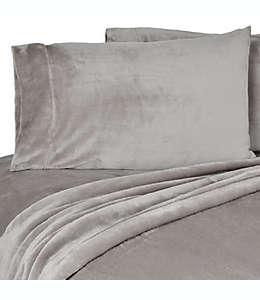 Berkshire VelvetLoft® Fundas para almohada king en gris, Set de 2