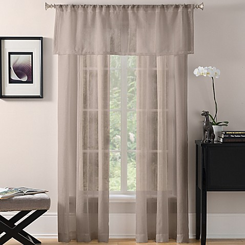 buy sheer window curtain panel from bed bath amp beyond 85724
