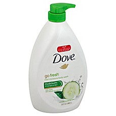 image of Dove® Go Fresh® 34 oz. Cool Moisturize Body Wash