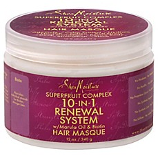 image of SheaMoisture 12 oz. Superfruit Complex 10-in-1 Renewal System Hair Masque