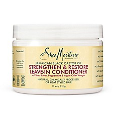 image of SheaMoisture 11 oz. Jamaican Black Castor Oil Strenghten & Restore Leave-In Conditioner