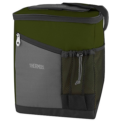Thermos insulated soft sided cooler in green bed bath beyond personalization is required to add item to cart or registry fandeluxe Choice Image