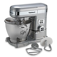 image of Cuisinart® 5.5-Quart Stand Mixer in Brushed Chrome