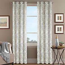 Magnolia Morocco Grommet Top Window Curtain Panel