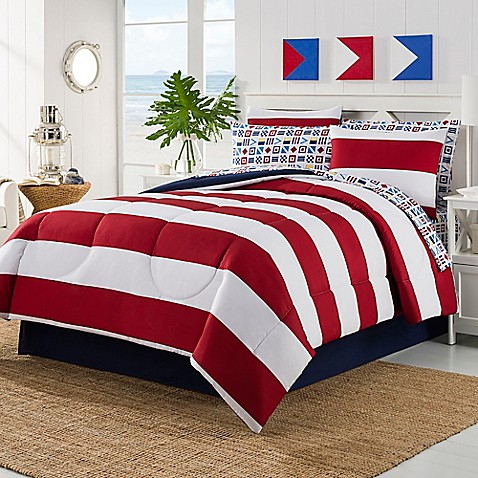 Buy Rugby Twin Comforter Set From Bed Bath Beyond
