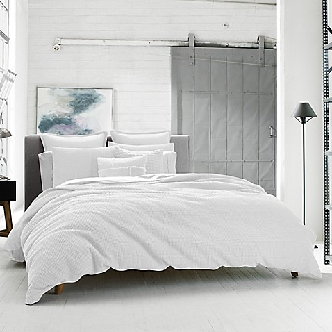 Buy Kenneth Cole Reaction Home Waffle Twin Duvet Cover In
