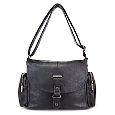 image of timi & leslie® Metro Messenger Diaper Bag in Soho Black