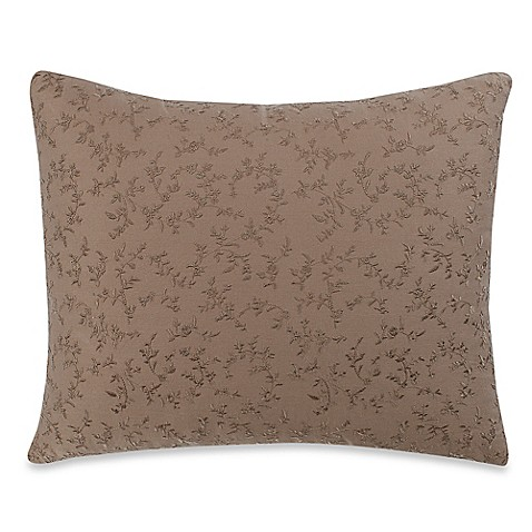 Wamsutta Vintage Washed Embroidered Oblong Throw Pillow in Linen - Bed Bath & Beyond