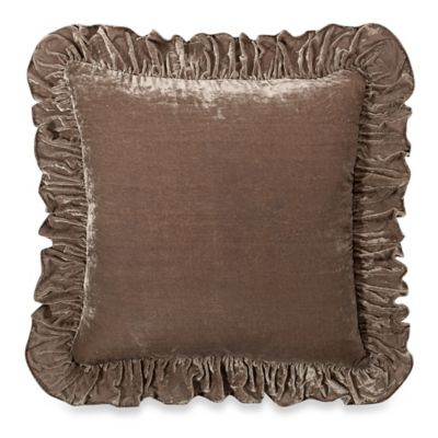 image of Wamsutta® Vintage Washed Velvet Square Throw Pillow