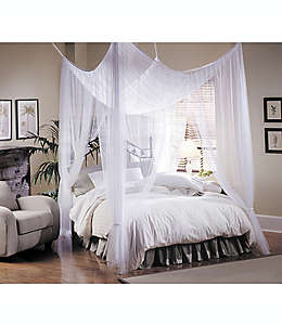 Dosel grande para cama Majesty®, en blanco