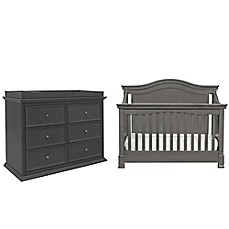 image of Million Dollar Baby Classic 5-Piece Louis Nursery Bundle Set in Manor Grey