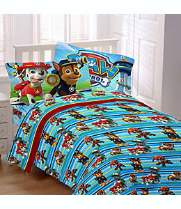 Set de sábanas individuales de poliéster Nickelodeon™ Paw Patrol