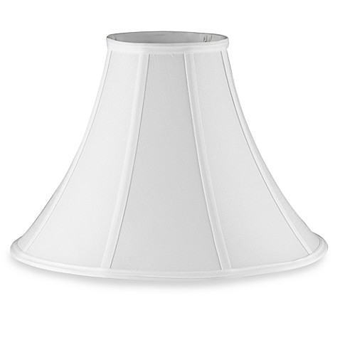 Mix match large 16 inch bell lamp shade in white bed bath beyond mix match large 16 inch bell lamp shade in white aloadofball Image collections