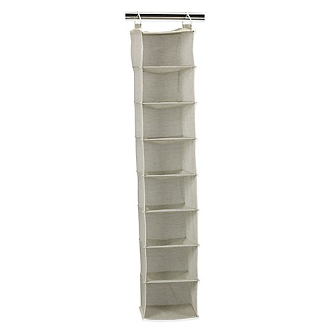 Household Essentials 174 8 Shelf Hanging Organizer In Tea Fog