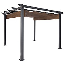 image of Coolaroo® Constantine 9-Foot x 9-Foot Pergola  sc 1 st  Bed Bath u0026 Beyond & Patio Gazebos Outdoor Canopies u0026 Earth Anchor Kits - Bed Bath ...