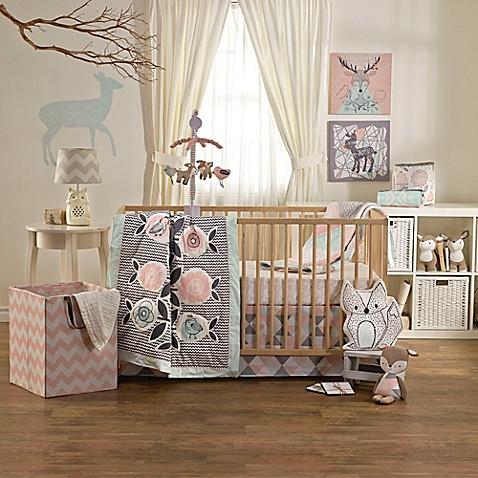Lolli Living By Living Textiles Mix Match Sparrow 4 Piece Crib Bedding Set Bed Bath Beyond