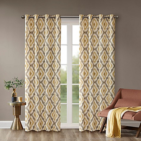 exclusive faux curtain striped panels as chateau walmart curtains grey of pair x top com silk gray set dove sold window ip grommet home