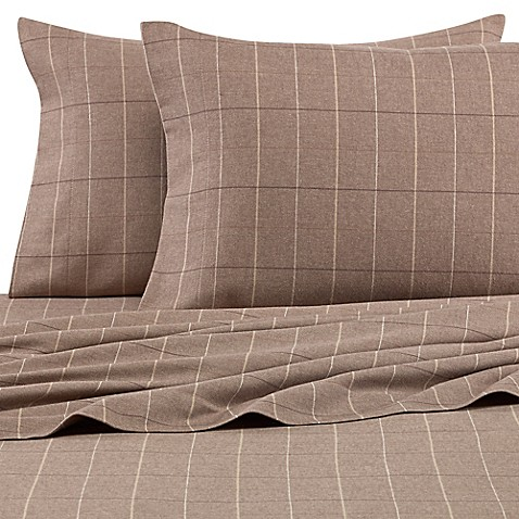 palais royale™ heavyweight flannel pillowcases in plaid (set of 2