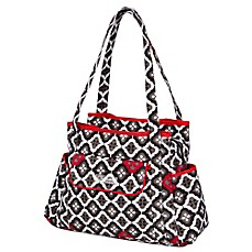 image of The Bumble Collection® Rachel Roundabout Bag in Royal Ruby Montage