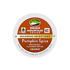 image of Keurig® K-Cup® Pack 18-Count Green Mountain Coffee® Pumpkin Spice Coffee
