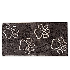 image of Muddy Buddy Paws 24-Inch x 48-Inch Doormat in Brown