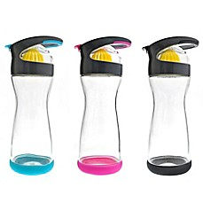image of Full Circle Wherever Lemon Glass Infuser Water Bottle