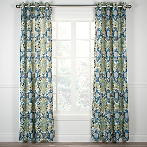 Tuscany Grommet Top Window Curtain Panel - Bed Bath & Beyond