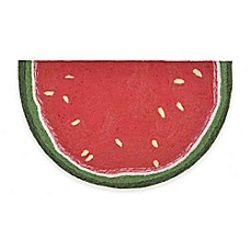 image of Trans-Ocean Watermelon Slice Door Mat