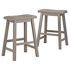 image of Verona Home Calera Saddle Stools (Set of 2)