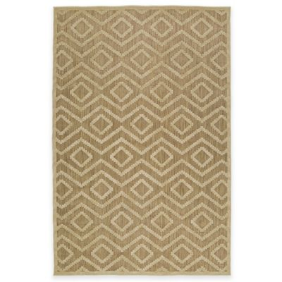 image of Kaleen A Breath of Fresh Air Tribal Diamonds Indoor/Outdoor Rug