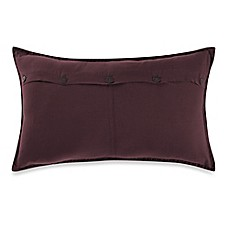image of Kenneth Cole Reaction Home Mineral Button Oblong Throw Pillow