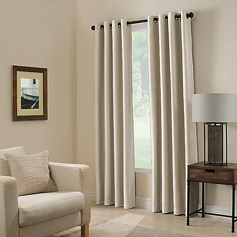 Buy Paradise 95 Inch Room Darkening Window Curtain Panel In Ivory From Bed Bath Beyond
