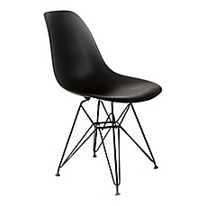 image of Design Guild Banks Chair with Black Legs