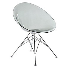 image of Design Guild Chelsea Chair in Clear Grey