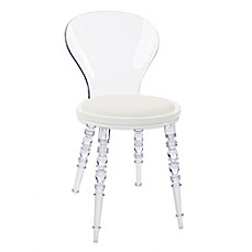 image of Design Guild Wynona Side Chair in White