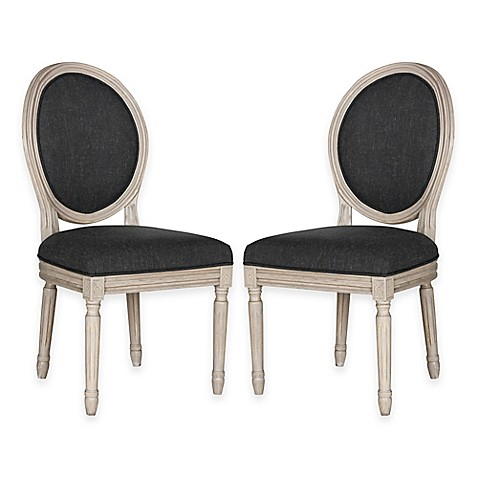 Safavieh Holloway Oval Dining Side Chairs Set Of 2 Bed
